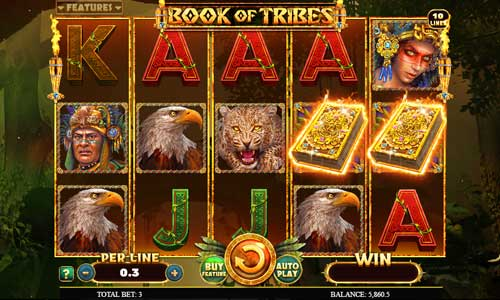 Book of Tribes slot