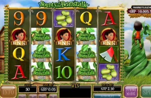 Bounty of the Beanstalk casino slot
