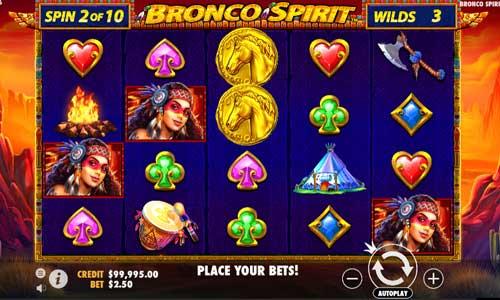 Bronco Spirit videoslot