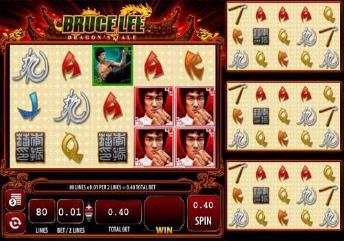 Bruce Lee Dragons Tale slot