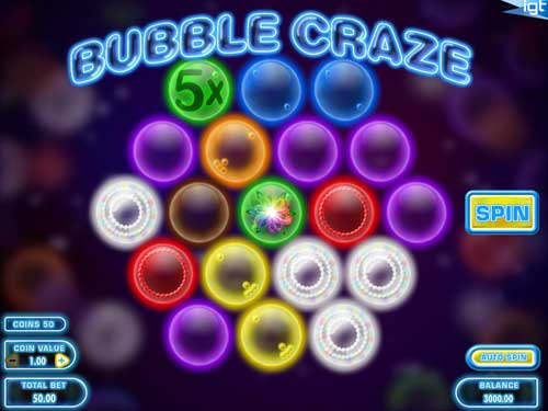Bubble Craze videoslot