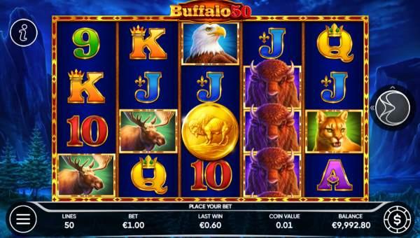 Buffalo 50 videoslot
