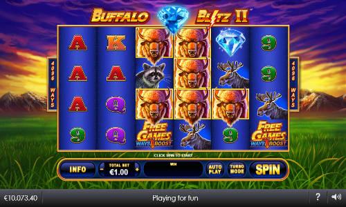 Buffalo Blitz II videoslot