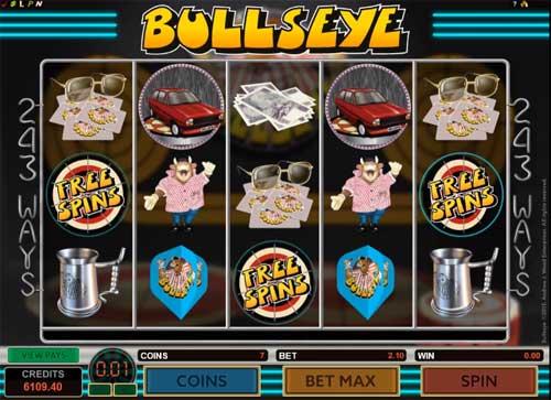 Bullseye slot
