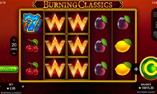 Burning Classics slot