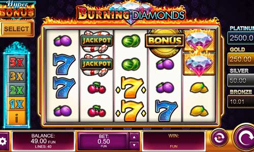 Burning Diamonds slot