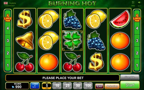 Burning Hot 6 Reels slot