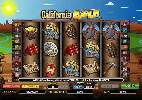 Californa Gold slot