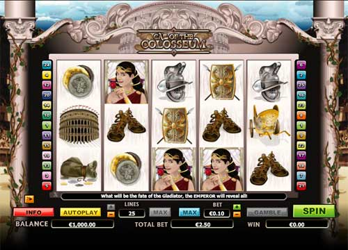 Call Of The Colosseum free slot