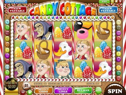 Candy Cottage videoslot