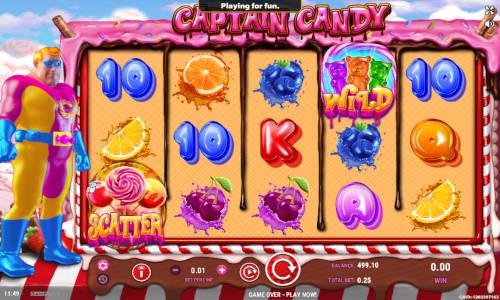Captain Candy slot