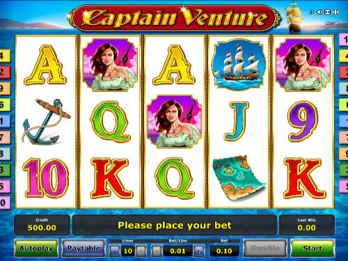 Captain Venture free slot