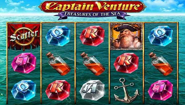 Captain Venture Treasures of the Sea slot
