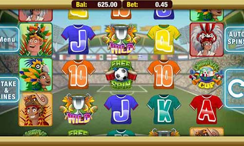 Carnival Cup free slot