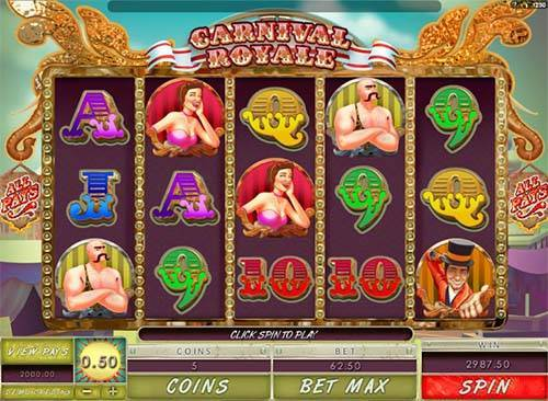 Carnival Royale videoslot