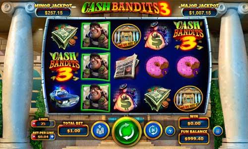 spela Cash Bandits 3 slot
