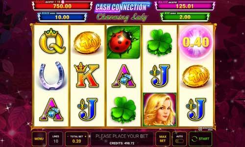 Cash Connection Charming Lady slot