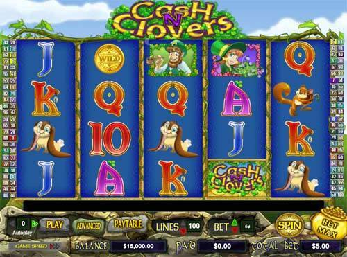 Cash n Clovers free slot