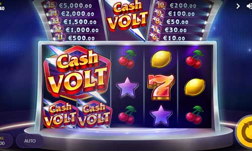 Cash Volt videoslot