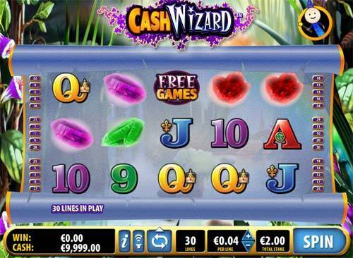 Cash Wizard casino slot
