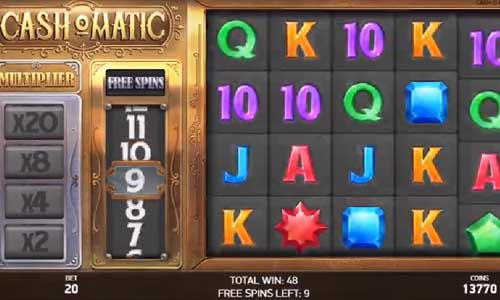 Cashomatic casino slot