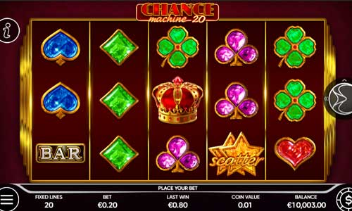 Chance Machine 20 videoslot