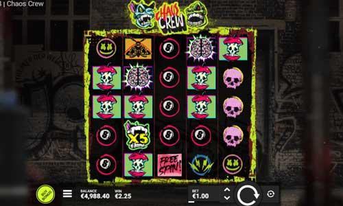 Chaos Crew videoslot