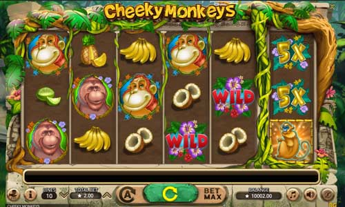 Cheeky Monkeys videoslot