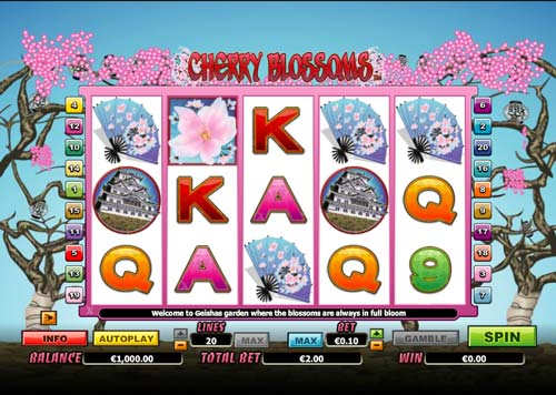 Cherry Blossoms free slot