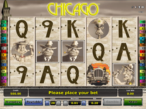 Chicago free slot