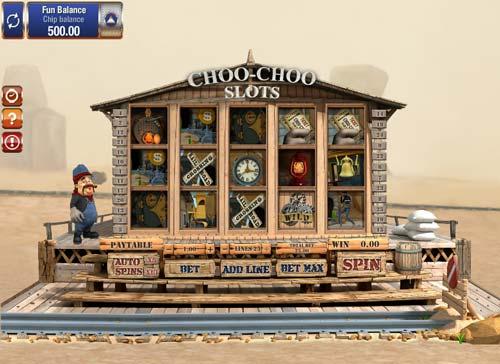 Choo-Choo Slots videoslot