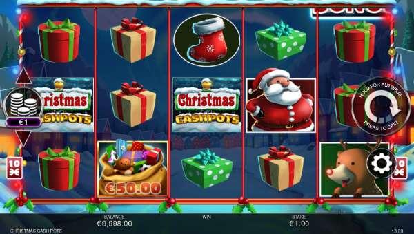 Christmas Cash Pots videoslot