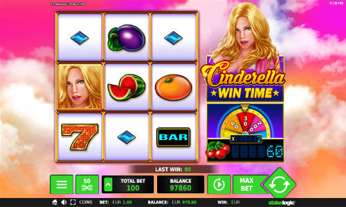 Cinderella Wintime videoslot