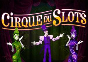 Cirque du Slots video slot