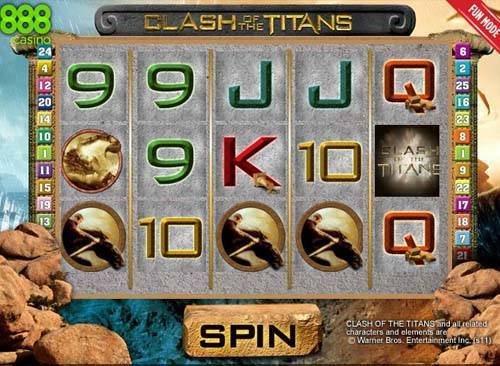 Clash of the Titans slot
