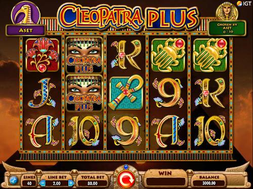 Cleopatra Plus videoslot