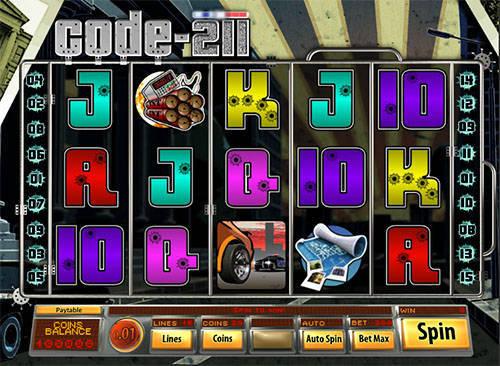 Code 211 slot