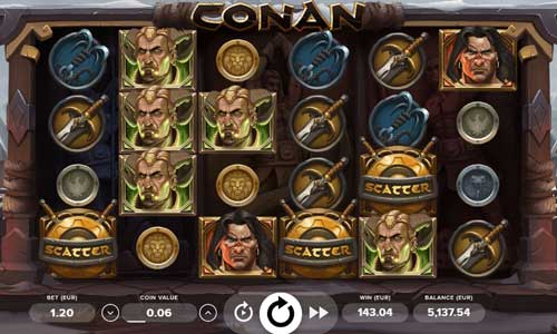 Conan casino slot