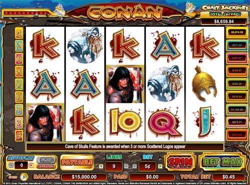 Conan the Barbarian slot