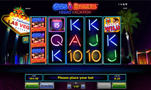 Cops N Robbers Vegas Vacation slot