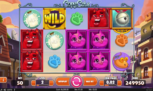 Copy Cats free slot