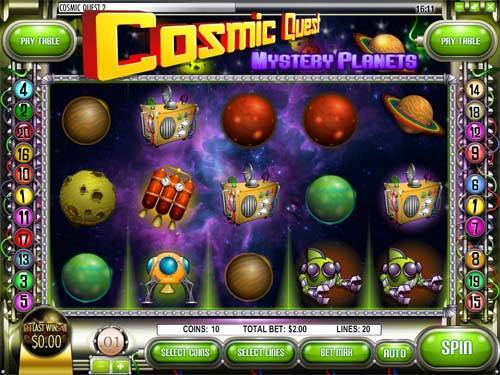 Cosmic Quest 2 videoslot