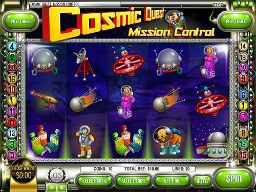 Cosmic Quest videoslot