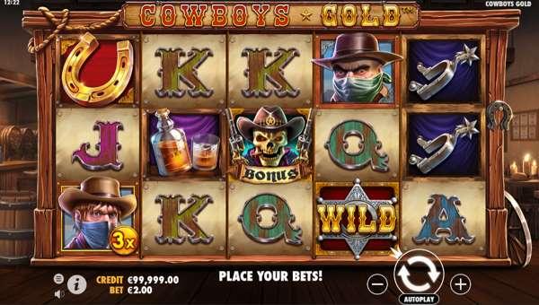 Cowboys Gold videoslot