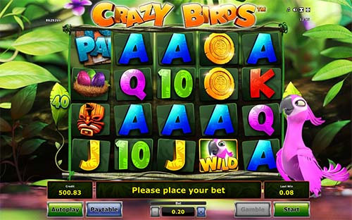 Crazy Birds free slot