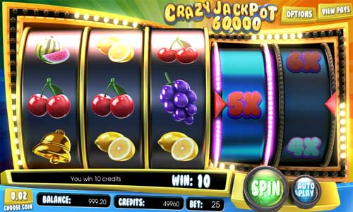 Crazy Jackpot 60000 videoslot