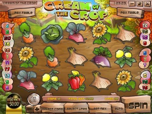 Cream of the Crop slot