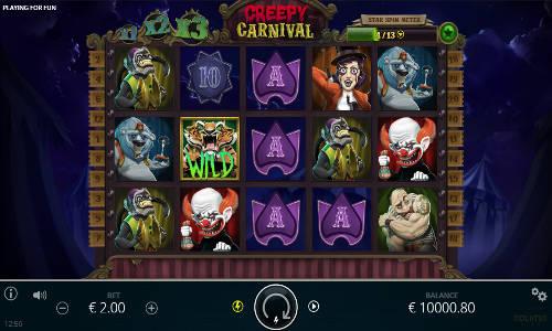 Creepy Carnival videoslot