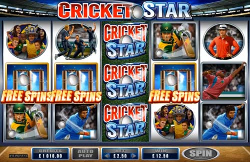 Cricket Star videoslot