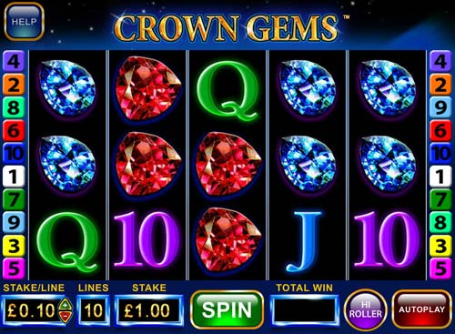Crown Gems videoslot